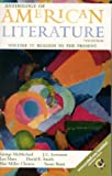 img - for Anthology of American Literature, Volume II: Realism to the Present (Anthology American Literature) by George McMichael (2000-05-03) book / textbook / text book