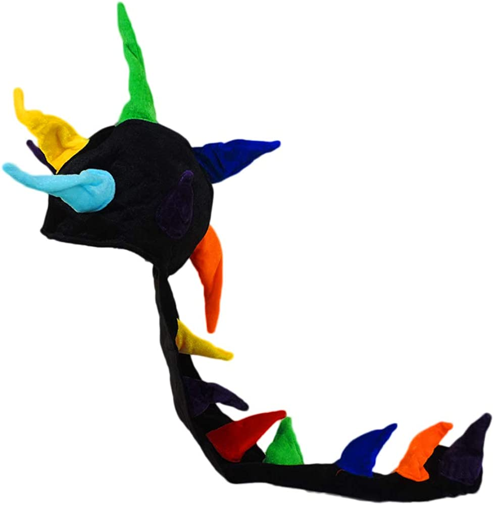 Jacobson Hat Company Rainbow Dragon Spikes Hat
