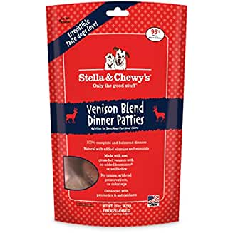 Stella and Chewy's Freeze-Dried Dog Food Simply Venison (our best from all of the Soft Dog Food Brands)