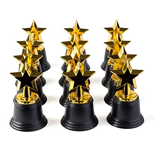 (Neliblu Star Gold Award Trophies 4.5
