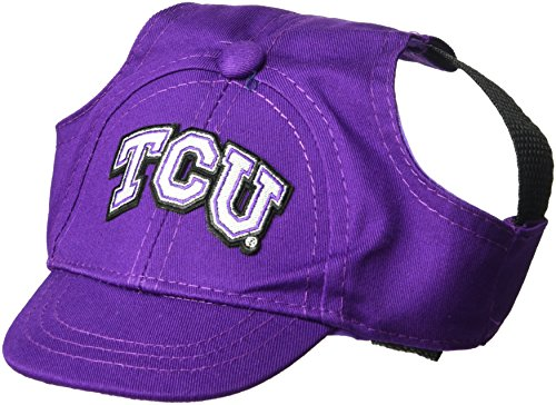 Tcu Horned Frogs Baseball - NCAA TCU Horned Frogs Pet Baseball Hat, XS