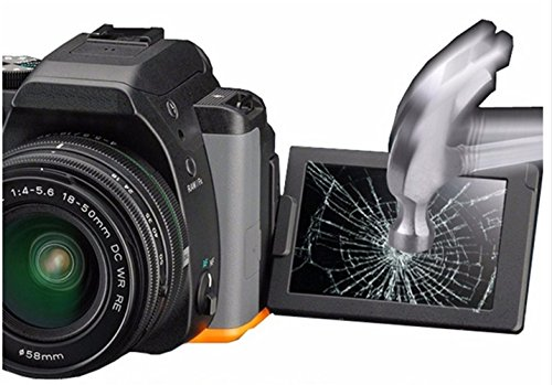 RENYD Canon EOS 5D Mark III IV 5D3 5D4 1DX Camera Tempered Glass Screen Protector Cover flim for Camera Anti-Scratch Anti-Finger Protector Accessories(2 Pack)