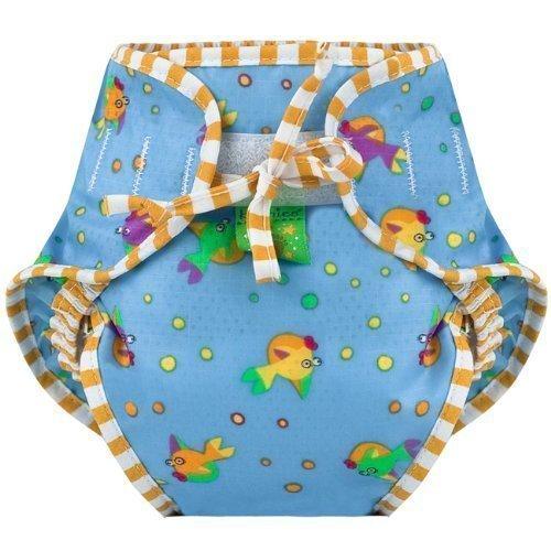 Kushies Swim Diaper, Goldfish Print, X-Large by Kushies