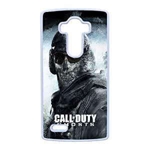 LG G4 Cell Phone Case White Call of Duty Ghosts F6560492