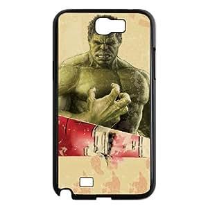 Samsung Galaxy N2 7100 Cell Phone Case Black Hulk vs Hulkbuster Armor SU4566469