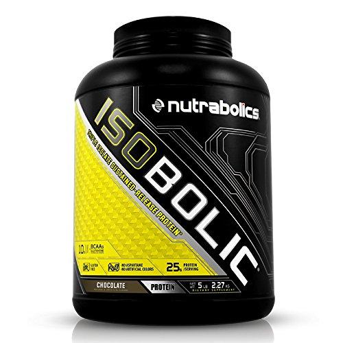 Nutrabolics – Isobolic Protein Isolate Chocolate, 5 lb