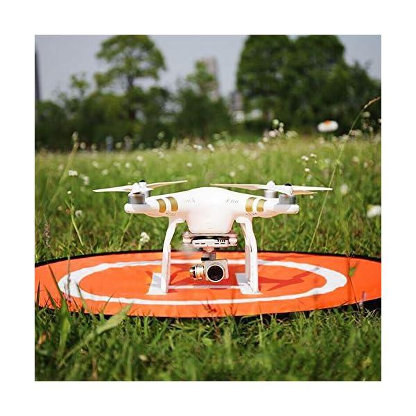 CHUER Drone Landing Pad, Universal Waterproof (D 75cm/30) Landing Pad Pieghevole Portatile per Elicotteri RC Drone, Droni PVB, DJI Mavic PRO Phantom 2/3/4 PRO, Antel Robotic 7 spesavip