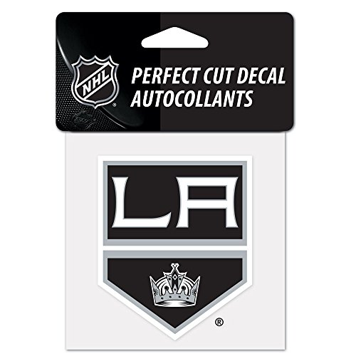 "WinCraft NHL Los Angeles Kings Perfect Cut Color Decal, 4"" x 4"""