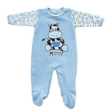 Pelele Bebe Muu! Azul