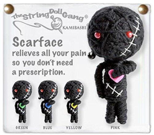 - Kamibashi Scarface Heart The Original String Doll Gang Keychain Clip