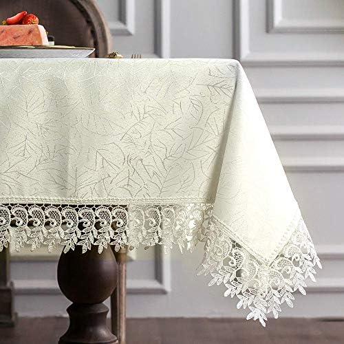 Vintage white lace tablecloth Vintage tableclothesrustic table decorRustic kitchen decorChristmas white tablecloth Vintage lace antique
