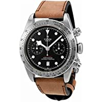 Tudor Heritage Black Bay Automatic Brown Leather Men's Watch