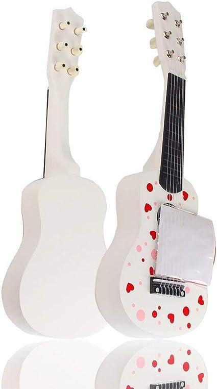 Ukelele con motivos florales de animales, ukelelele, guitarra, 6 ...