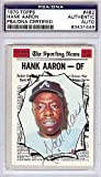 Hank Aaron Signed 1970 Topps Trading Card #462 - Certified Genuine Autograph By PSA/DNA - Autographed Baseball Card