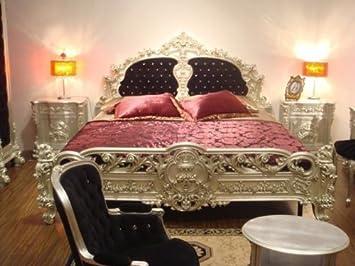 Barock Bett Doppel Bett 180x200 Schlafzimmer Antik Stil Vp7701Q05 ...