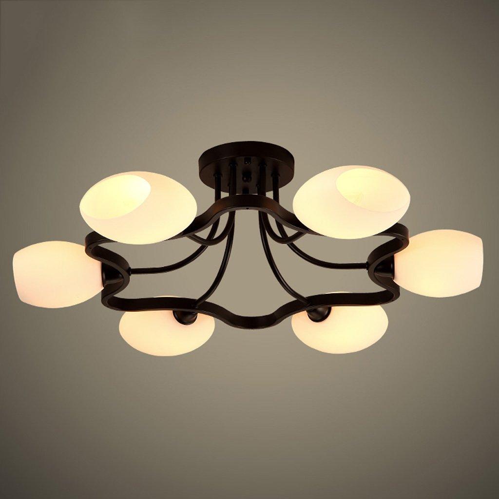 CY - Lampade Nordic Ferro individualità plafoniera salone ristorante rotondo luce luce moderne lampade Semplici