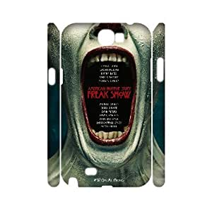 ALICASE Hard case American Horror Story 3D Diy For Case Samsung Galaxy S4 I9500 Cover [Pattern-1]