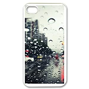 Custom Rain Case Cover , Creative Designed For iPhone 4,4S
