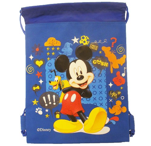 Mickey Mouse and Friends Draw String Backpack