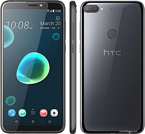 HTC Desire 12+(PLUS) 32GB Dual SIM Factory Unlocked GSM International Version No Warranty (COOL BLACK)