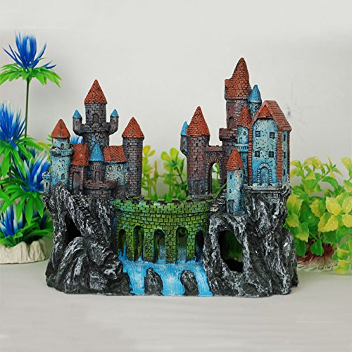Castle hollow Aquarium Landscape Aquarium Ornament
