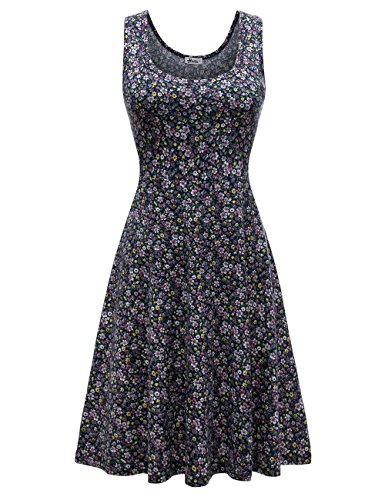 Herou Summer Casual Flared Floral
