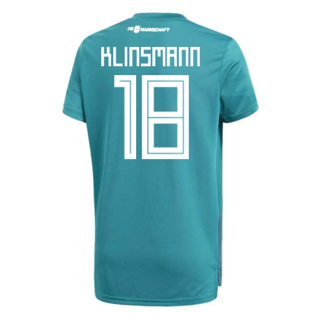 2018-19 Germany Away Training Football Soccer T-Shirt Trikot (Jurgen Klinsmann 18)