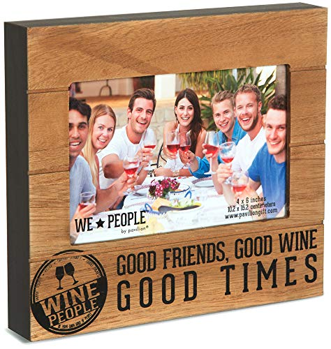 Pavilion Gift Company 67220 We People Wine People Frame, 7-1/2 x 6-3/4