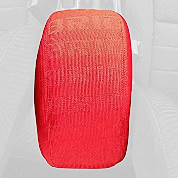 RedlineGoods Shift Boot Compatible with Honda Civic 2012-15 Black Perforated Leather-Red Thread