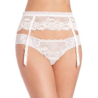 291f16055 Image Unavailable. Image not available for. Color  Hanky Panky Dutchess Garter  Belt ...