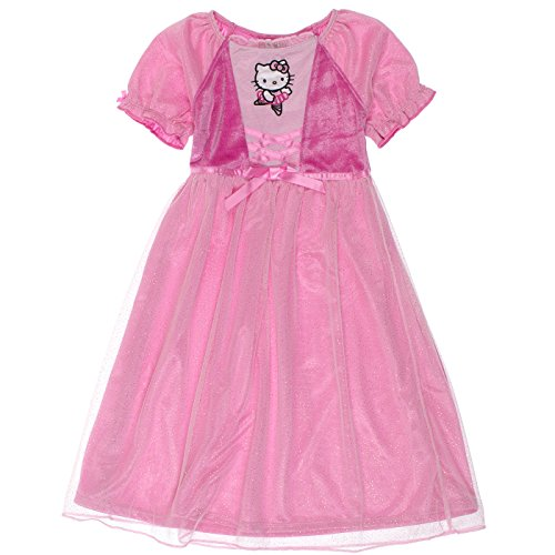 - Hello Kitty Little Girls Night Gown, Pink, 3T