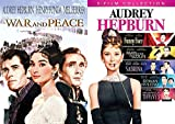 Sizzles Audrey Hepburn Paris Movie Collection / Sabrina / Roman Holiday / Funny Face / Breakfast At Tiffany's + War & Peace Classic Screen Series 6 Feature Films
