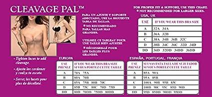 Cette Cleavage PAL, Sujetador Adhesivo para Mujer: Amazon.es: Ropa y accesorios