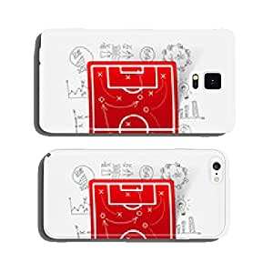Drawing business formulas: playing field, tactics cell phone cover case Samsung S5