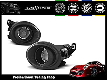 NEW FOG LIGHTS HALOGENS HABM11 BMW E39 E46 M-PACK BLACK: Amazon co