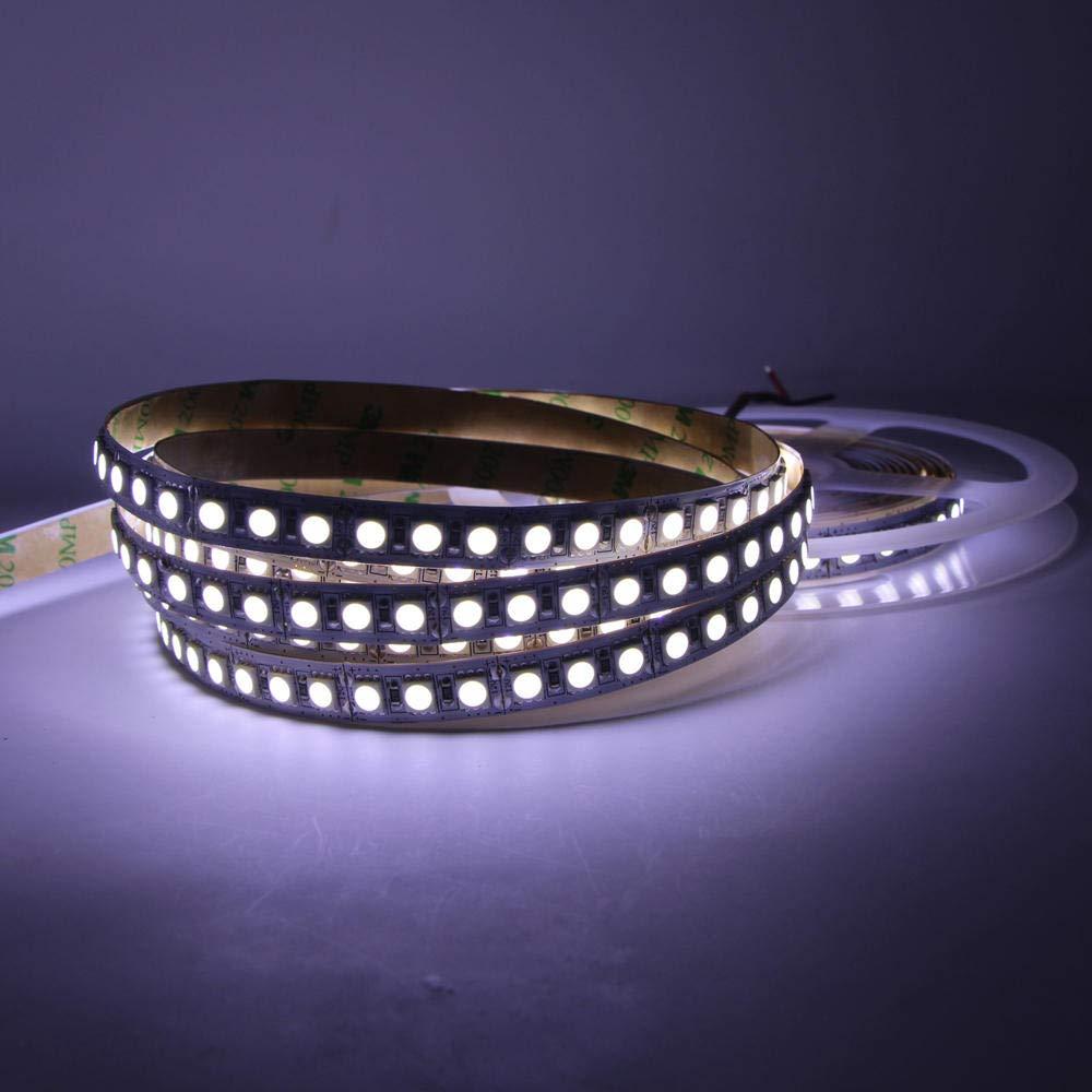 Tira ledTira de luz LED 5m 5050 12V impermeable RGB flexible ...