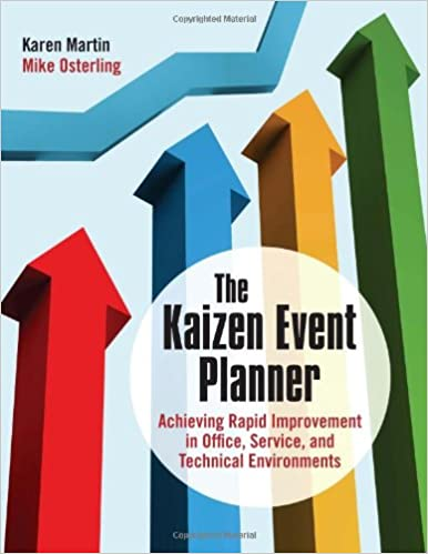 amazon the kaizen event planner achieving rapid improvement in