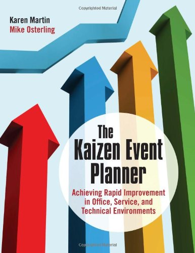 The Kaizen Event Planner: Achieving Rapid Improvement in Office, Service, and Technical Environments (The Best Event Planners)
