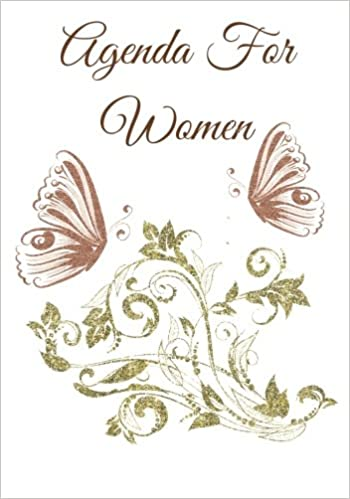 Agenda For Women: A womans Inspirational Daily Planner And ...