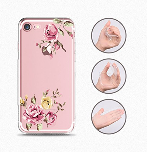 Ultra iPhone 8 BackCase Anti Clear 7 Apple 7 Crystal Scratch Custodia 8 iPhone Trasparente Premium Flessibile Thin Silicone TPU iPhone per 09 Cover Slim iPhone Gel qzdWrqx
