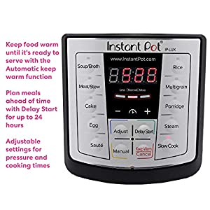 Instant-Pot-Lux-6-in-1-Electric-Pressure-Cooker-Slow-Cooker-Rice-Cooker-Steamer-Saute-and-Warmer-6-Quart-12-One-Touch-Programs