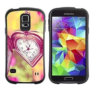 LASTONE PHONE CASE / Suave Silicona Caso Carcasa de Caucho Funda para Samsung Galaxy S5 SM-G900 / time love waits summer vignette deep