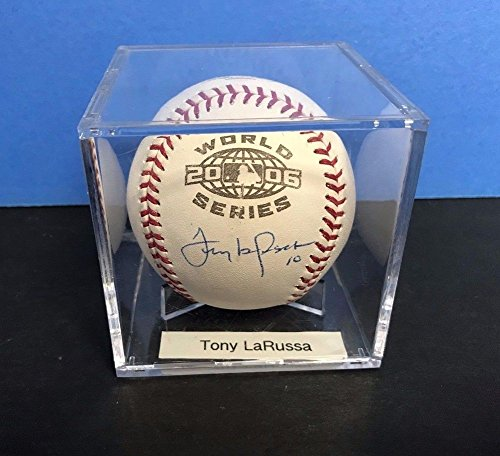 Tony Larussa Steiner 2006 World Series St Louis Cardinals Signed (Mlb 2006 World Series Baseball)