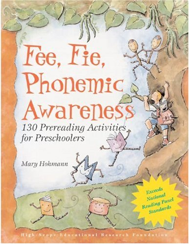 Fee, Fie, Phonemic Awareness: 130 Prereading Activities for ...