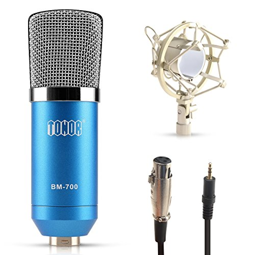 Amazon.com: TONOR XRL to 3.5mm Studio Recording Condenser ...