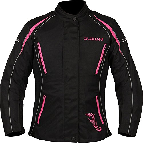 Vented Touring Jacket ( DUCHINNI VERONA 4 SEASON VENTED WOMENS MOTORCYCLE JACKET WITH SIDE STRETCH PANELS AND WATERPROOF/THERMAL LINERS!)