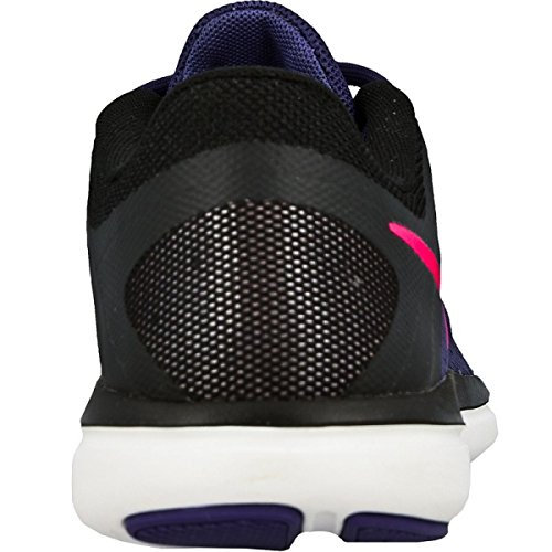 Nike Damen Wmns Flex 2016 Rn Trainingsschuhe, Multicolore (Dk Purple Dust/Pink Blast-Black W 830751-500 36EU