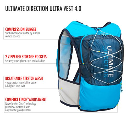Ultimate Direction Ultra Vest 4.0, Signature Blue, Medium by Ultimate Direction (Image #4)