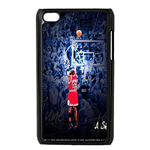 Michael Jardon Basketball Pattern Productive Back Phone Case FOR IPod Touch 4th -Style-1