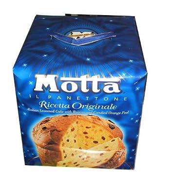 Amazoncom Motta Il Panettone Original Italian Leavened Cake with